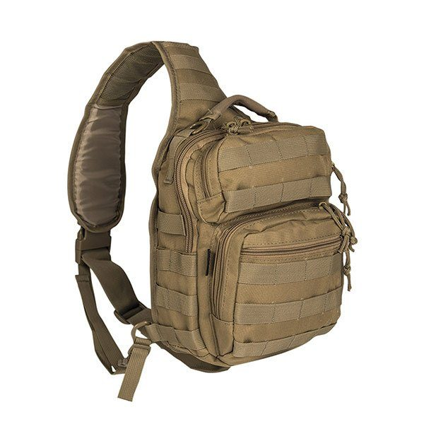 ΣΑΚΙΔΙΟ ΠΛΑΤΗΣ/ΣΤΗΘΟΥΣ MIL-TEC ONE STRAP ASSAULT PACK SMALL (10lt) COYOTE - 14059105