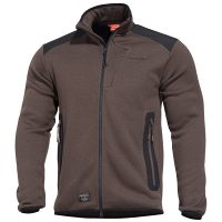 ZAKETA FLEECE PENTAGON AMINTOR TERRA BROWN
