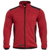 ZAKETA FLEECE PENTAGON AMINTOR RED - K08028.07